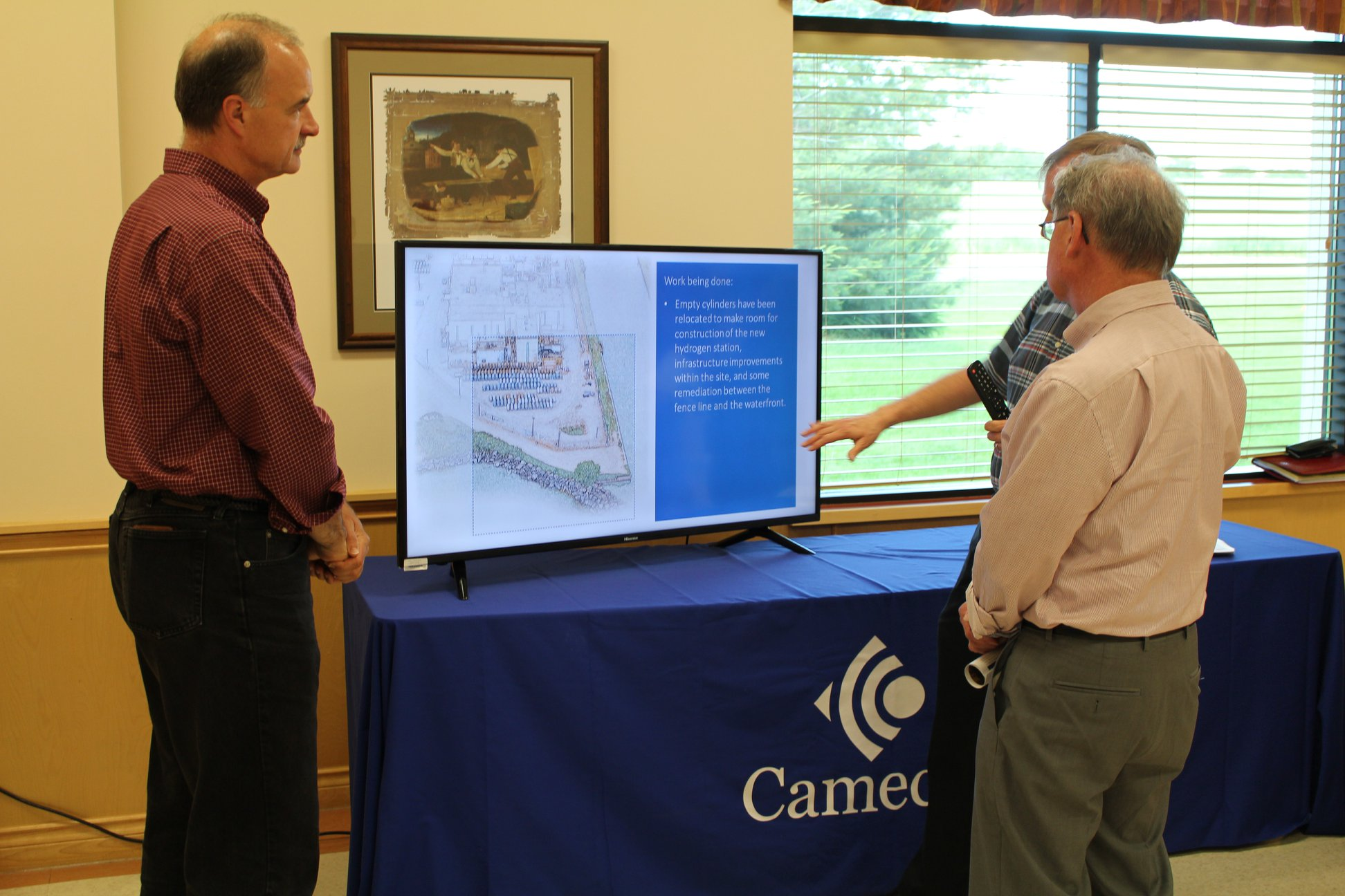 Visitors to our Vision in Motion Open House learned about the project's milstone activities.